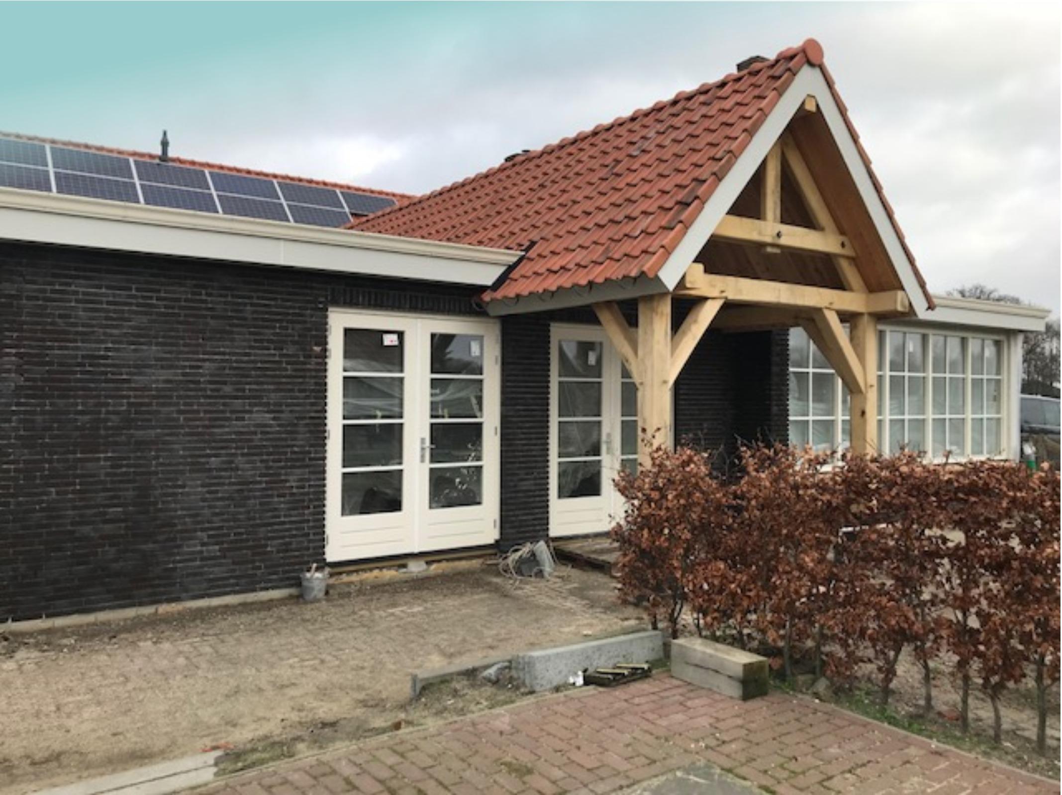 Uitbreiding woonhuis Zeeland. Gereed begin 2018