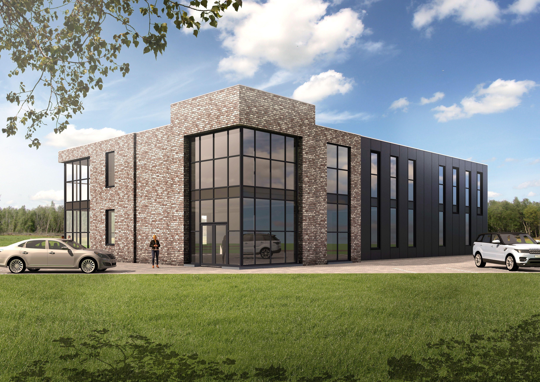 Bedrijfsgebouw aan de Industrielaan Uden, aanvang bouw 2018